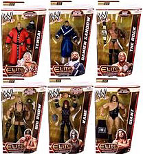 Mattel WWE Wrestling Elite Series 22 Set of 6 Action Figures [Tensai, Damien Sandow, Rock, Big Show, Kane & Giant]
