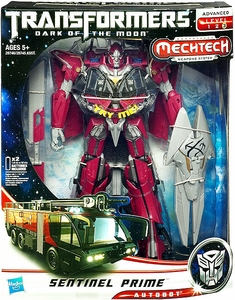 Transformers 3: Dark of the Moon Leader Mechtech Action Figure Sentinel Prime