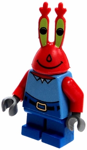 LEGO Spongebob LOOSE Mini Figure Mr. Krabs