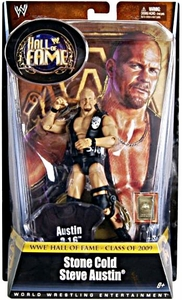 Mattel WWE Wrestling Legends Exclusive Hall of Fame Action Figure Stone Cold Steve Austin