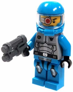 LEGO Alien Conquest LOOSE Solomon Blaze with Laser Pistol