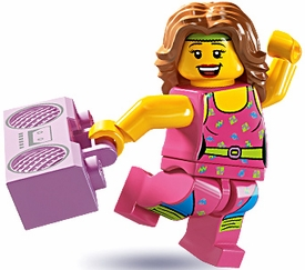 LEGO Minifigure Collection Series 5 LOOSE Mini Figure Fitness Instructor