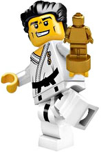 LEGO Minifigure Collection Series 2 LOOSE Mini Figure Karate Kid