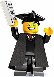 LEGO Minifigure Collection Series 5 LOOSE Mini Figure Graduate