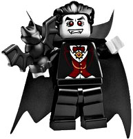 LEGO Minifigure Collection Series 2 LOOSE Mini Figure Dracula Vampire