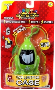 Crazy Bones Gogo's Collector Carrying Case Simi [Green]