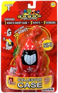 Crazy Bones Gogo's Collector Carrying Case Simi [Red]