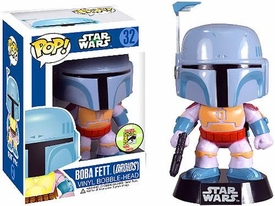 Funko POP! Star Wars 2013 SDCC San Diego Comic-Con Exclusive Bobble Head Boba Fett [Droids Cartoon] Pre-Order ships April