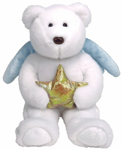 Ty Beanie Buddy Star the Bear with Gold Star