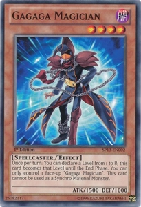 YuGiOh Star Pack 2013 Single Card SP13-EN002 Gagaga Magician