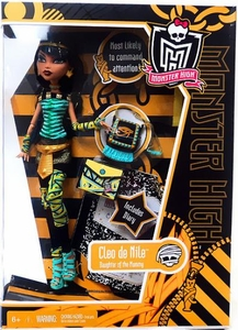 Monster High Deluxe Doll Cleo de Nile [Doll Stand & Diary]