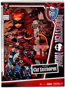 Monster High Power Ghouls Exclusive DELUXE Doll Cat Tastrophe [Toralei]