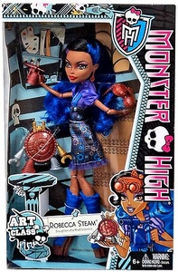 Monster High Classroom Deluxe Doll Art Class Robecca Steam