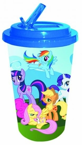My Little Pony Flip Straw 16oz Plastic Cold Cup Pre-Order ships April