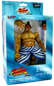 Sota Toys Street Fighter Revolution Series 1 Action Figure E. Honda