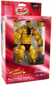Sota Toys Street Fighter Revolution Series 1 Action Figure Zangief