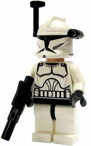 LEGO Star Wars LOOSE Mini Figure EPII Clone Wars Clone Trooper with Blaster [Black Targeter & Light]