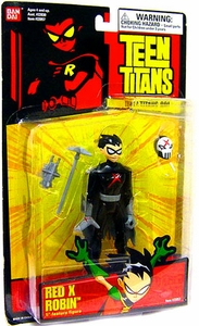 Teen Titans 5 Inch Action Figure Red X Robin