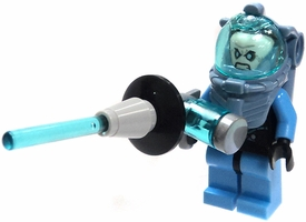 LEGO DC Universe LOOSE Mini Figure Mr. Freeze with Freeze Ray