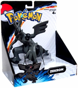Pokemon TOMY 7 Inch Articulated Vinyl Figure Zekrom