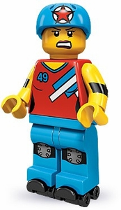 LEGO Minifigure Collection Series 9 LOOSE Mini Figure Roller Derby Girl
