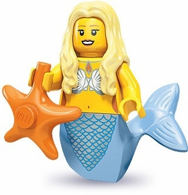 LEGO Minifigure Collection Series 9 LOOSE Mini Figure Mermaid