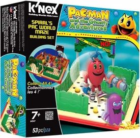 Pac-Man K'NEX Set #64547 Spiral's Pac World Maze