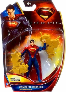 Man of Steel Movie Basic Action Figure Concrete Crusher Superman