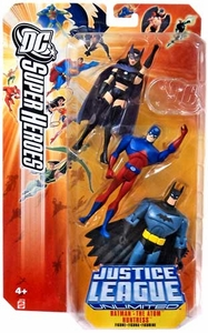 DC Super Heroes Justice League Unlimited Action Figure 3-Pack Huntress, Atom & Batman