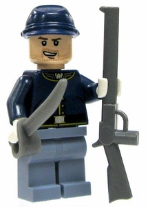 LEGO Lone Ranger LOOSE Mini Figure Cavalry Trooper with Saber & Rifle