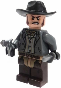 LEGO Lone Ranger LOOSE Mini Figure Bank Robber