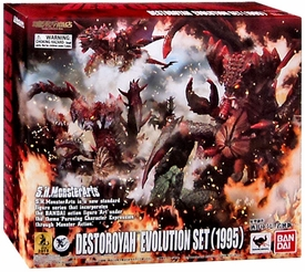 Godzilla Bandai S.H. Monsterarts Action Figure Destroyah [Evolution Set]