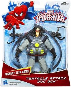 Ultimate Spider-Man Ultimate Core 6 Inch Action Figure Tentacle Attack Doc Ock