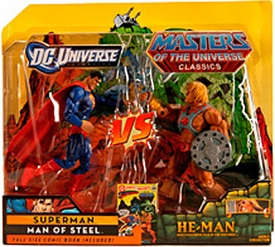DC Universe & Masters of the Universe Classics Exclusive Action Figure 2-Pack Superman Vs. He-Man