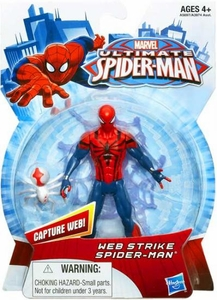 Ultimate Spider-man Action Figure Web Strike Spider-Man New!