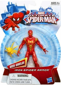 Ultimate Spider-man Action Figure Iron Spider Armor Pre-Order ships July