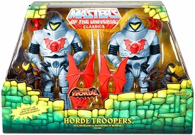 He-Man Masters of the Universe Classics Exclusive Action Figure 2-Pack Horde Troopers