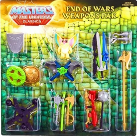 He-Man Masters of the Universe Classics Exclusive Weapons Pak End of Wars