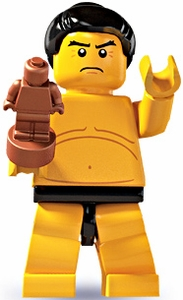LEGO Minifigure Collection Series 3 LOOSE Mini Figure Sumo Wrestler