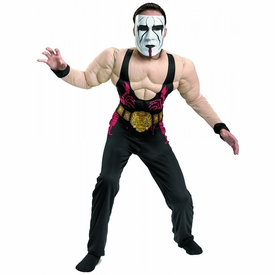 Disguise TNA Wrestling Costume Muscle Chest Sting