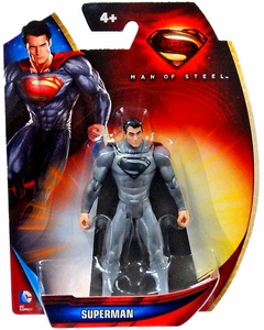 Man of Steel Movie 3 Inch Action Figure Superman [Silver Suit]