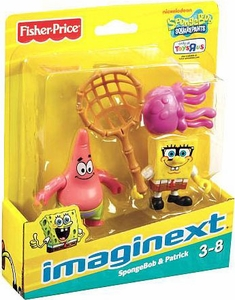 SpongeBob Squarepants Imaginext Exclusive Mini Figure 2-Pack SpongeBob & Patrick