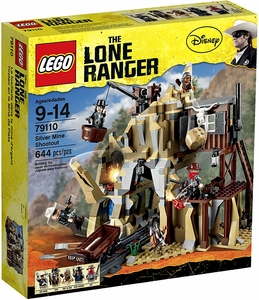 LEGO Lone Ranger Set #79110 Silver Mine Shootout