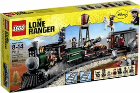 LEGO Lone Ranger Set #79111 Constitution Train Chase