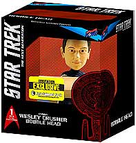 Star Trek The Next Generation SDCC 2013 San Diego Comic-Con Exclusive Build - A - Bridge Bobble Head Wesley Crusher