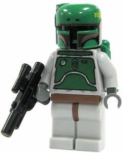 LEGO Star Wars LOOSE Mini Figure Boba Fett with Blaster