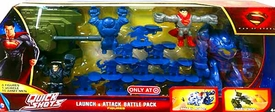 Man of Steel Movie Exclusive Quick Shots Launch & Attack Battle Pack