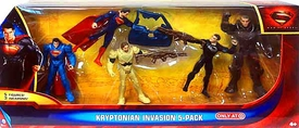 Man of Steel Movie Exclusive Action Figure 5-Pack Kryptonian Invasion