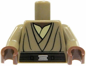 LEGO LOOSE Torso Dark Tan Tunic