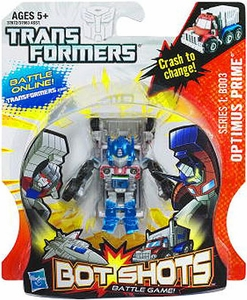 Transformers Bot Shots Battle Game Series 1 B003 Optimus Prime